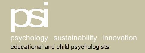 PSI - Psychology Sustainability and Innovation